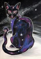 Galactic cat by Saffella