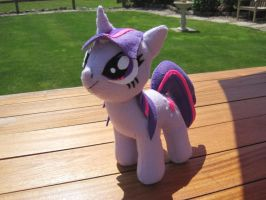 Twilight Sparkle Plush - MLP by fluffylovey