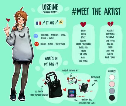 #Meet The Artist 2017 by oOCherry-chanOo