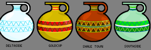 Pottery Styles by Kingda-Ka