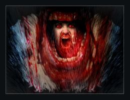 Bloody mouth by CollagenMen