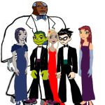 Teen Titans: Prom Night by unicorn-catcher