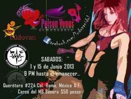 POiSON VENUS Live act at Paranoid Vidions UTA by ludovan
