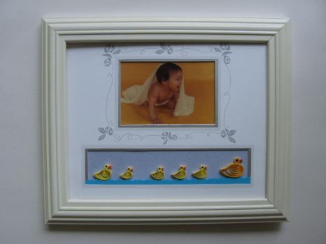 Baby Duckies in Quilling by eidatwong