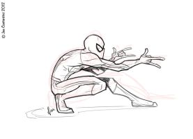 Spidey Draw 08-08-12 by JoeCostantini