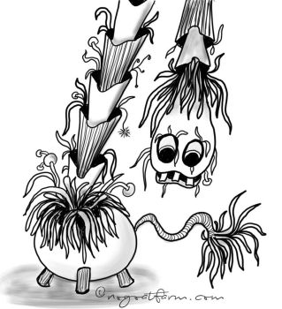 Plantmonster by abecediary