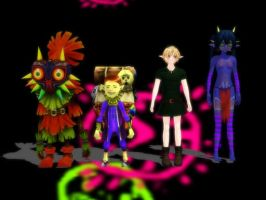 (MMD) Group Time by LordVaatiXsis