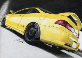 Integra Type-R Yellow by VeVe-350Z
