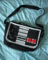 NES shoulder bag by estranged-illusions