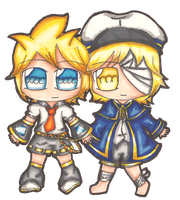 Len and Oliver by KaiPri
