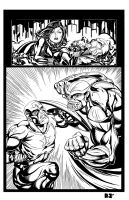 Captain America vs Thanos 3of3 by ZUCCO-ART