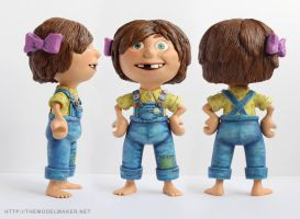 Custom Ellie from Pixar 'Up' by artmik