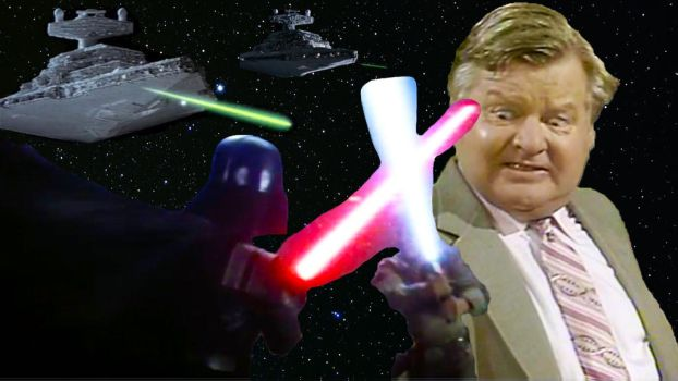 Star Wars Benny Hill by RoyPrince