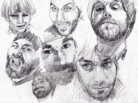 Portrait studies by KingVahagn