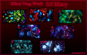Mini Tag Wall of May by Nyster7