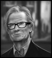 Bill Nighy by ChuddmasterZero