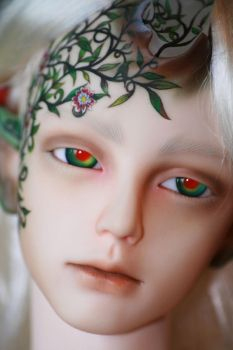 Tarion the druid passion flower face-up 1 by PinkHazard