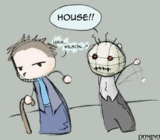 House and Wilson by domino626