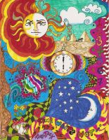 Time Waits Not... by Jerzee-Girl