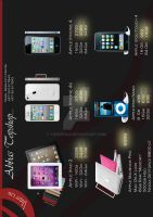 """Flyer Project """"Apple products"""" by yousefcia"""