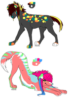 Adoptables2-CLOSED- by lostdoge