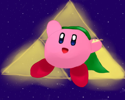 Kirby, the Hero of Hyrule by tsvlink25