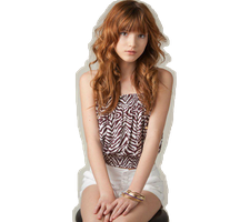 Bella Thorne Png by JordyKatyCat