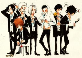 vongola family by faQy
