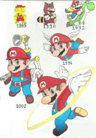 Super Mario by kaysabio