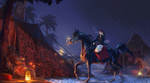Fireflies and horse thieves by Roiuky