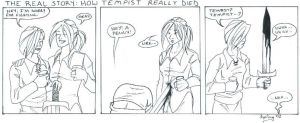 The death of Tempist by shamus