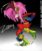 Zamy Rose by Shikerii