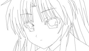 Shadow759 Angel Beats Kanade Draw by shadow759