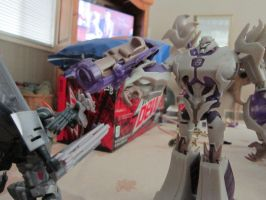 Megatron have mercy by spartan280