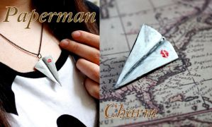 Paperman Charm Tutorial by GandaKris