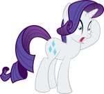 Shocked Rarity by Psyxofthoros