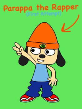 Parappa the Rapper! (1st Attempt) by RaccoonTwin-3