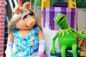 Kermit and Piggy by CaitrinXlXAnneliese