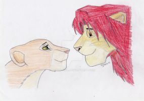 Simba and Nala by House-Girl