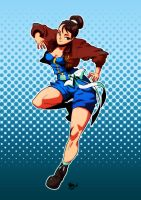 old-er chun li by BookerJ