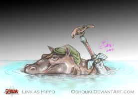 Link As Hippo - contest entry by Oshouki