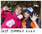 Gravity falls cosplay by Moon-Pie-Panda