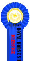 Third Place Dressage Ribbon by Horse-Emotion