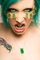 Green Gummi Bears. by Ryo-Says-Meow