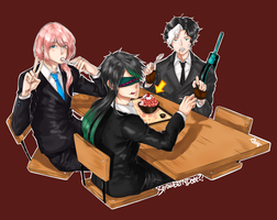 RN: Strawberry Date?! by rbpai