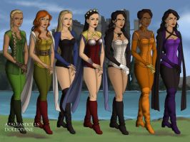Women of the League by gigi2sparkle