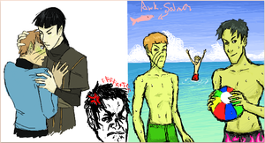 iscribble sexy shoreleave by SinisterlySweet