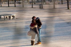 French Kiss in Paris by anthon-ellwispe