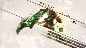 Riven, the Exile Wallpaper by Freyfie