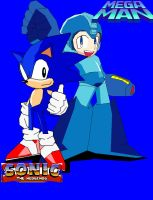 Classic sonic and megaman by ss2sonic